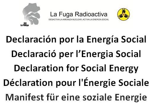 Declaración por la Energía Social |#Súmate