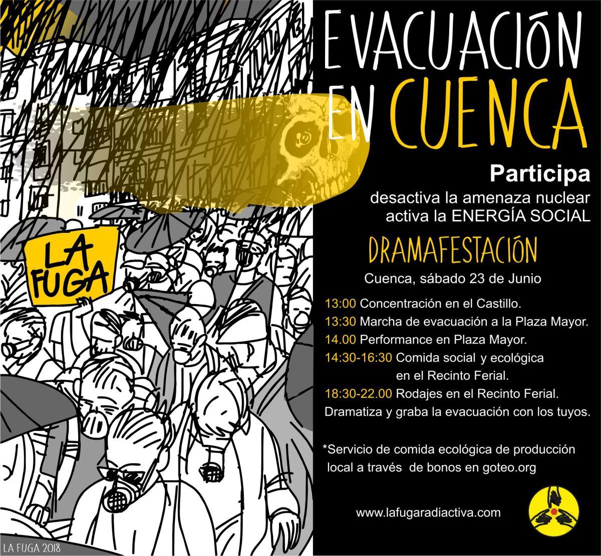 Dramática Evacuación en Cuenca por La FugaRadiactiva
